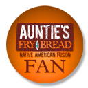 Support Auntie's with this cool badge on your site!
