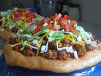 Original Chili Fry Bread