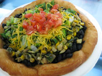 Three Sisters Veggie Fry Bread