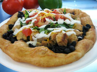 chicken ranch fry bread